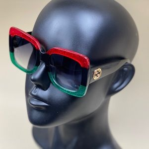 NWT Authentic Gucci GG0083S Oversized  sunglasses
